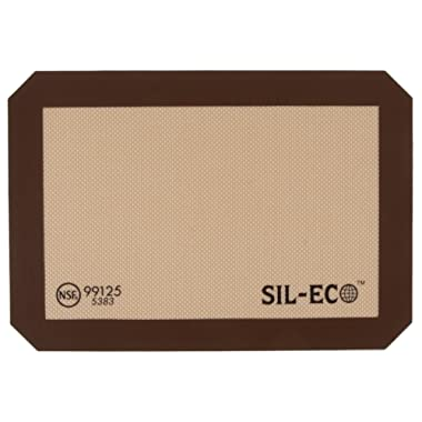 Sil-Eco E-99125 Non-Stick Silicone Baking Liner, Quarter Sheet Size, 8-1/4  x 11-3/4