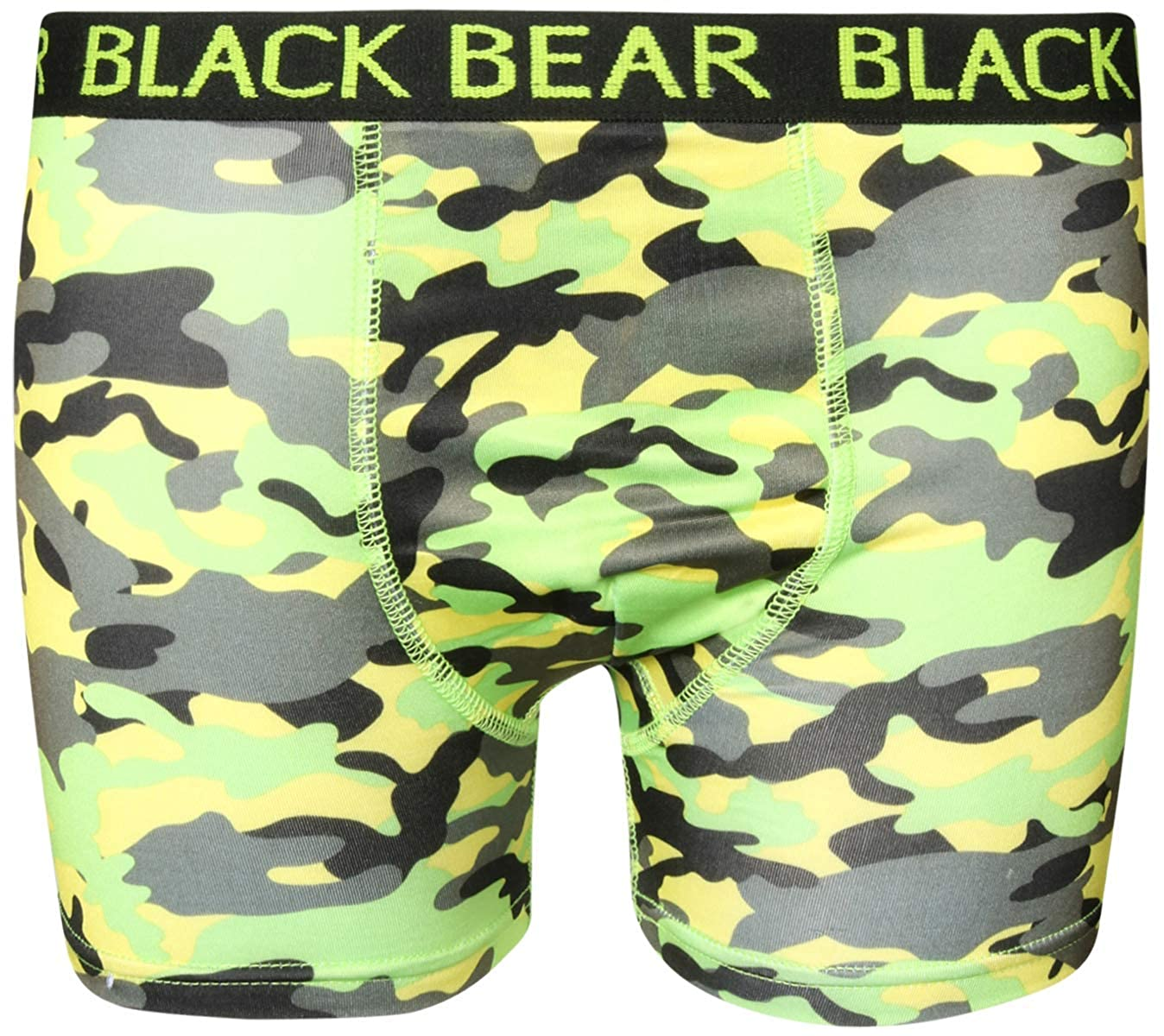 Pack of 4 Black Bear Boys/' Performance Dry-Fit Compression Boxer Brief