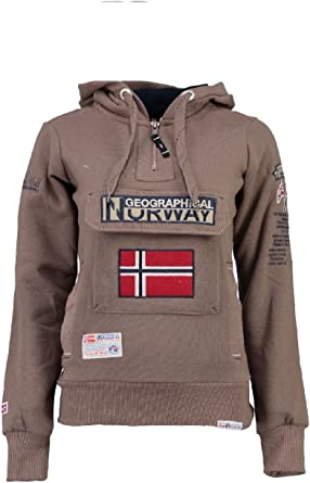 Geographical Norway Gymclass Lady Assort B Sweat Shirt à Capuche Femme