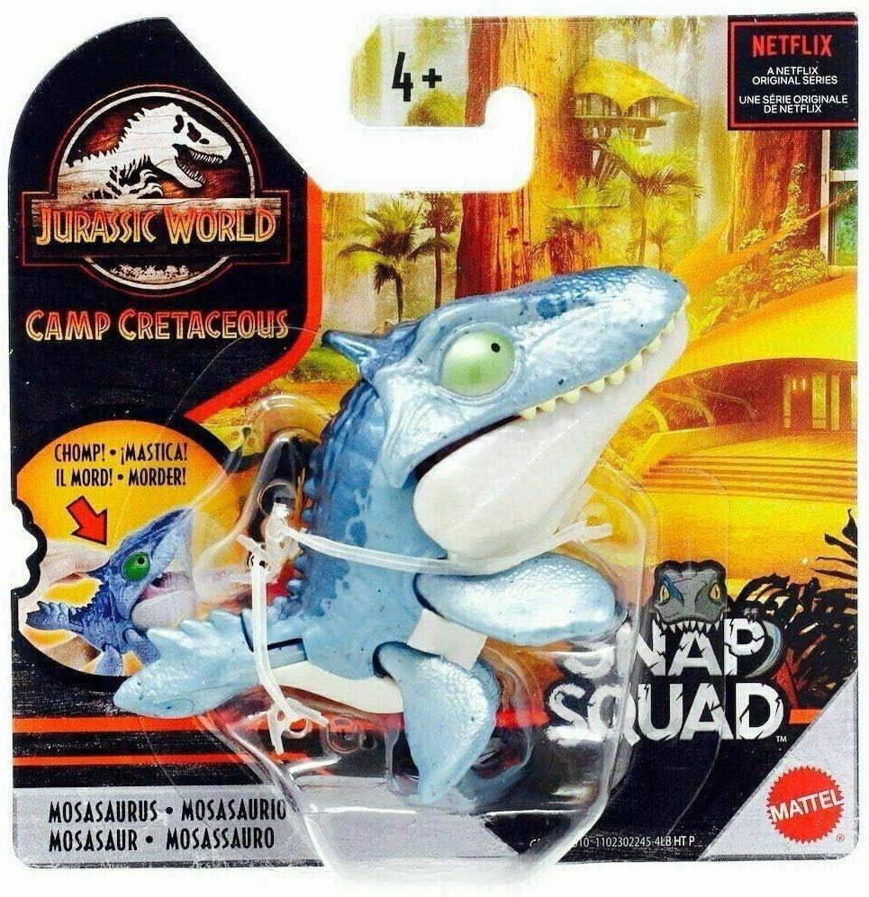 Jurassic World Camp Cretaceous Snap Squad Set of 4