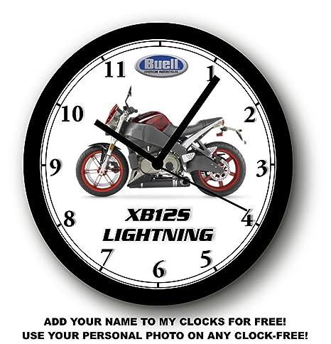 Amazon com: 2007 BUELL XB12S LIGHTNING WALL CLOCK-FREE USA