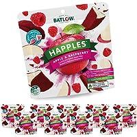 Batlow Happles Crispy Apple Slices - Freeze Dried & Coated in Raspberry Powder – Gluten Free, Lactose Free & Low Fat…