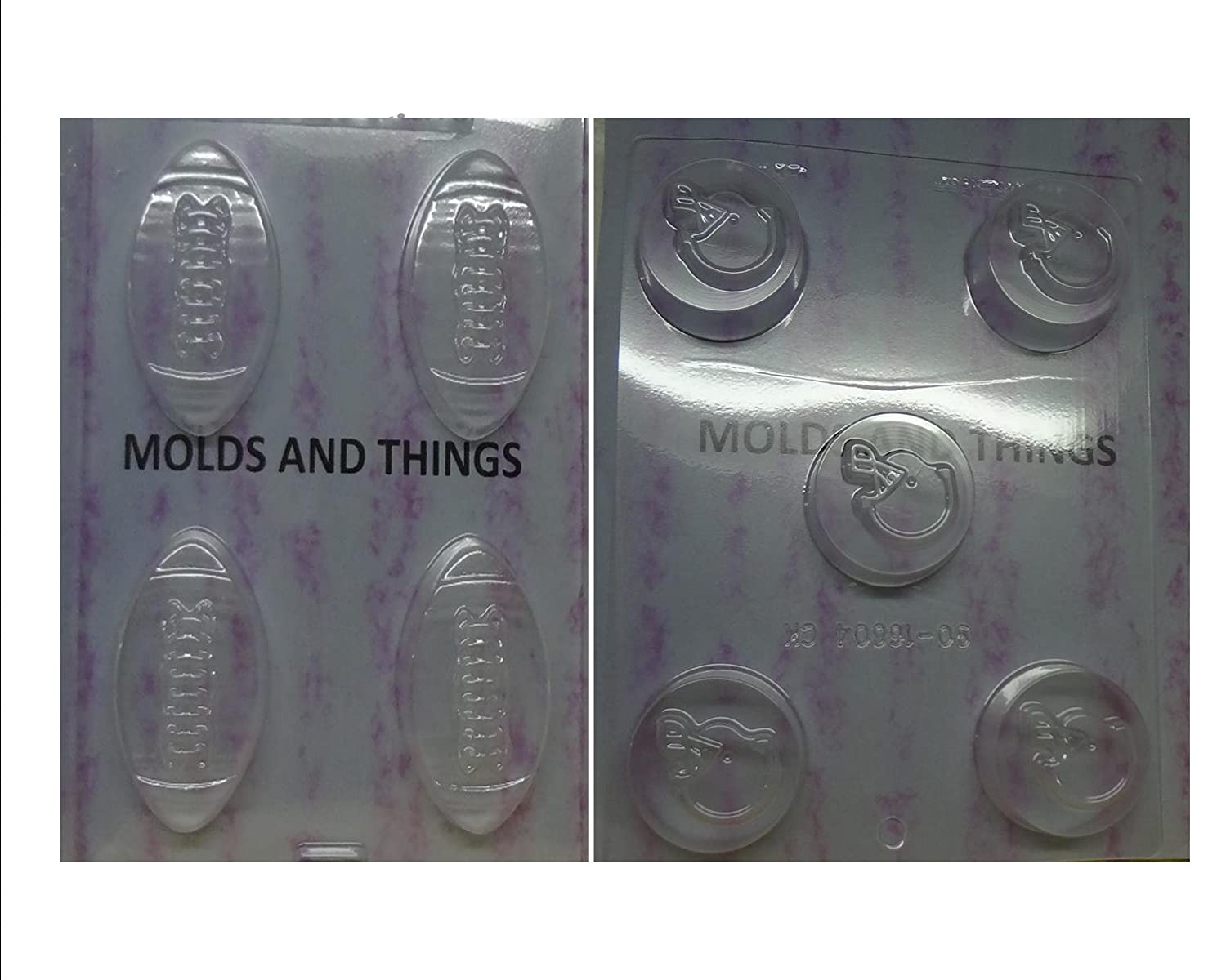 Football Oreo Cookie Super Bowl Party Favor Chocolate Soap Mold Mould