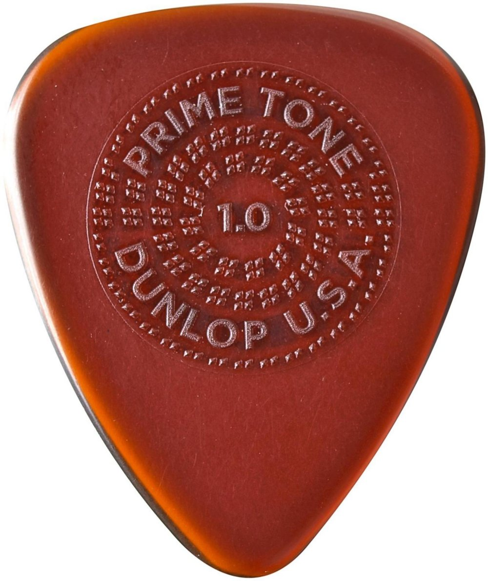 Dunlop 510P Primetone STANDARD Sculpted Plectra with Grip, 3-Pack 1.0 mm 510P10