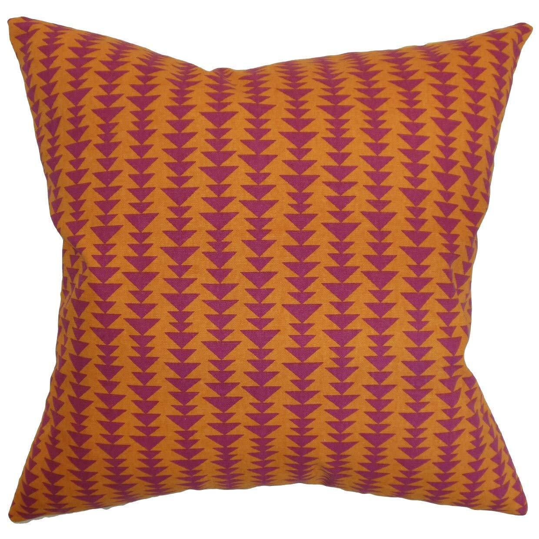 The枕コレクションJiri幾何マンゴーDown Filled Throw枕   B073KX7JS3