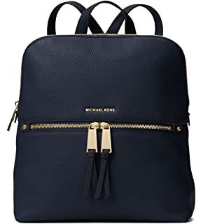 5386dca5b321ed Amazon.com: MICHAEL Michael Kors Rhea Small Leather Backpack ...