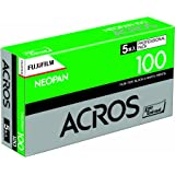 FUJIFILM 黒白ネガフイルム ネオパン 100 ACROS ブローニー 12枚 5本 120 ACROS100 EP NP 12EX 5
