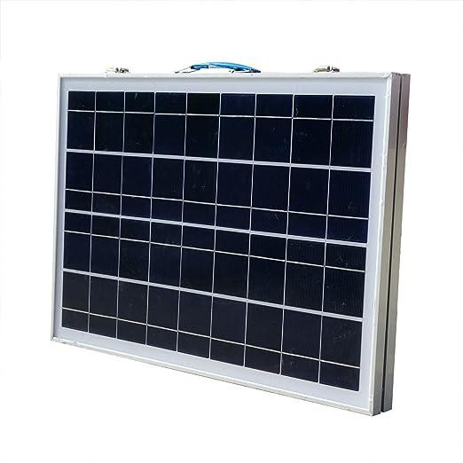3 opinioni per ECO-WORTHY 12V Portable pannello solare 40W Kit completo: 40 Watt modulo solare