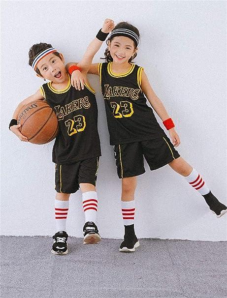 Fabbricazione Gestire rigorosamente  Sport Kids Bambini NBA Jersey Set - Bulls Jordan # 23 / Lakers ...