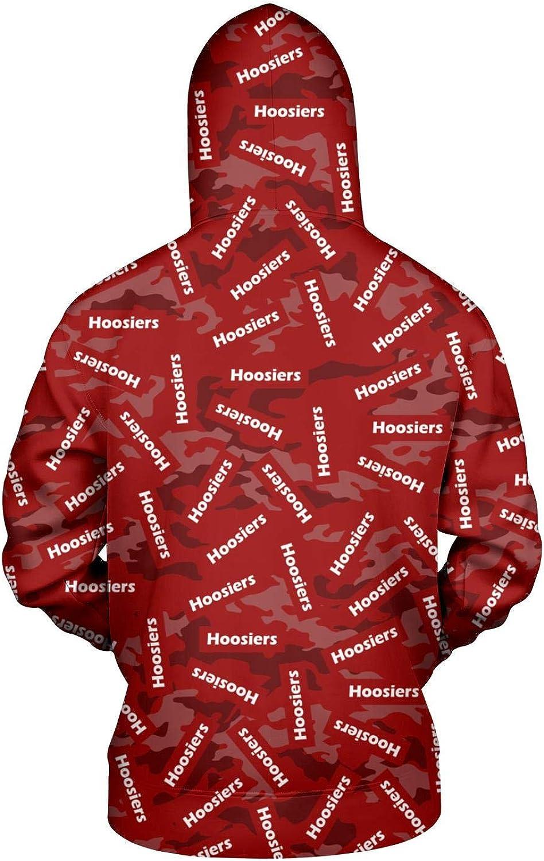 TYUING 3D Printed Mens Hoodies Drawstring Casual Warm Long Sleeve Hoody Sweatshirts