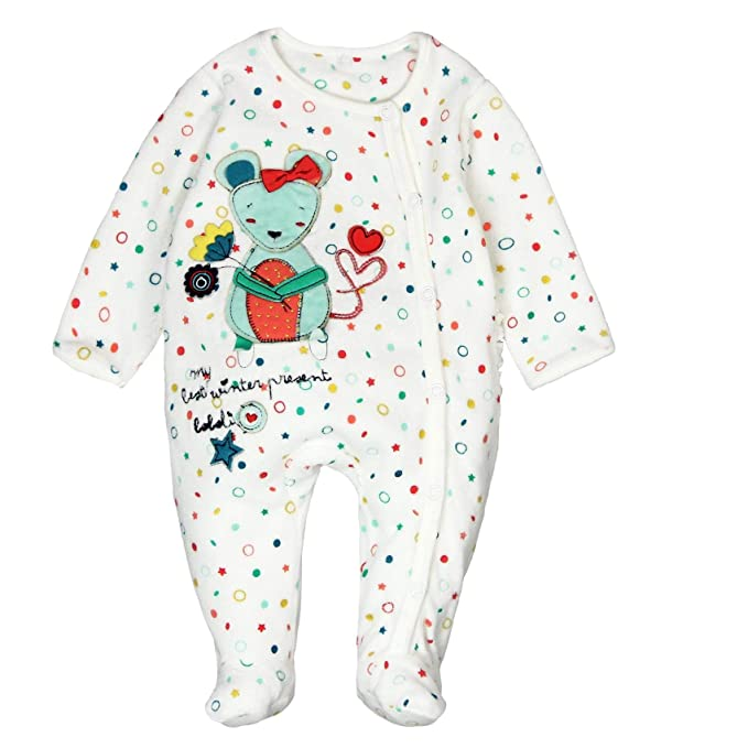boboli Velour Play Suit For Baby Pelele, (Redondeles 9850), 92 ...