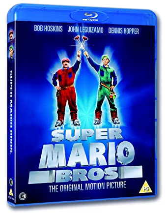 Super Mario Bros The Motion Picture Blu Ray Uk Import Amazonde