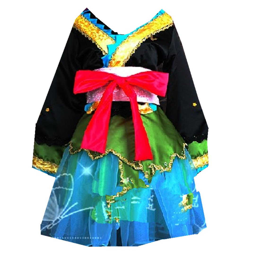 Mister Bear Vocaloid Lolita Project Diva Miku Hatsune Japan Kimono Cosplay Costume Dress