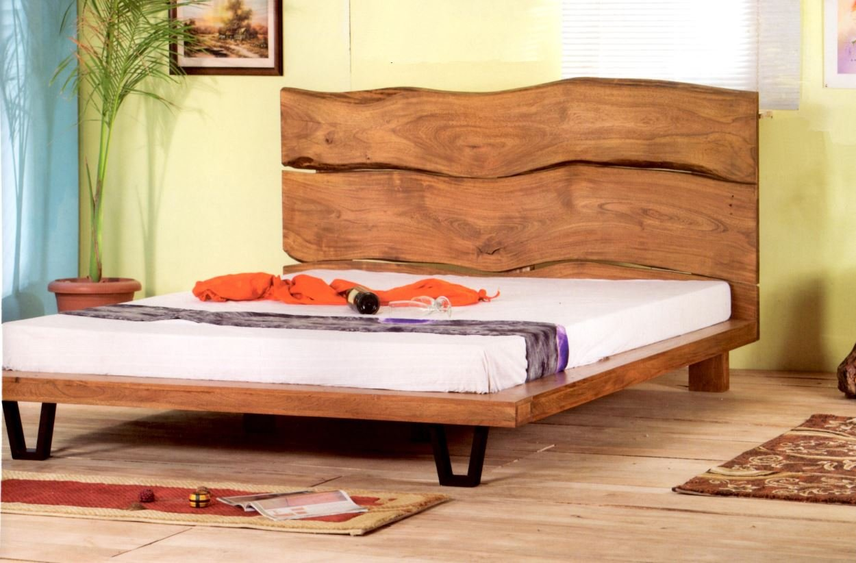 Massivholz Bett Baumkante Authentic Solid Wood 180 X 200 Mit