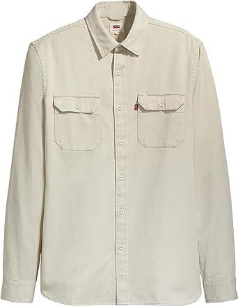 Levis® x Justin Timberlake Jackson Worker Camisa de Manga Larga: Amazon.es: Ropa y accesorios