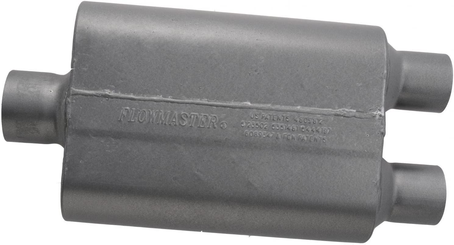 "2.5/"" 8430452 Flowmaster Super 44 Series Muffler 409 Stainless 3/"""