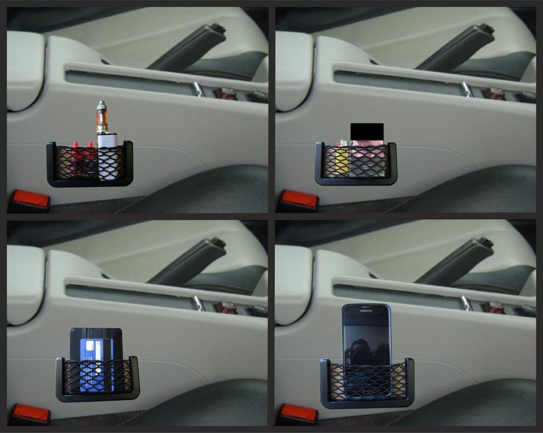 XtremeAuto Universal Car/Van Storage Net Pocket Elasticated Netting - Wallet, Keys. Phone Holder (3) XtremeAuto®