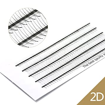 2d928fad691 Volume Eyelash Extensions 2D C Curl 180 PCS 0.07 Russian Cluster Individual  Eyelashes Professional Volume C