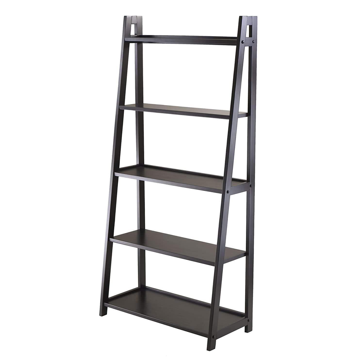 Winsome Wood Adam 5-Tier A-Frame Shelf 20513