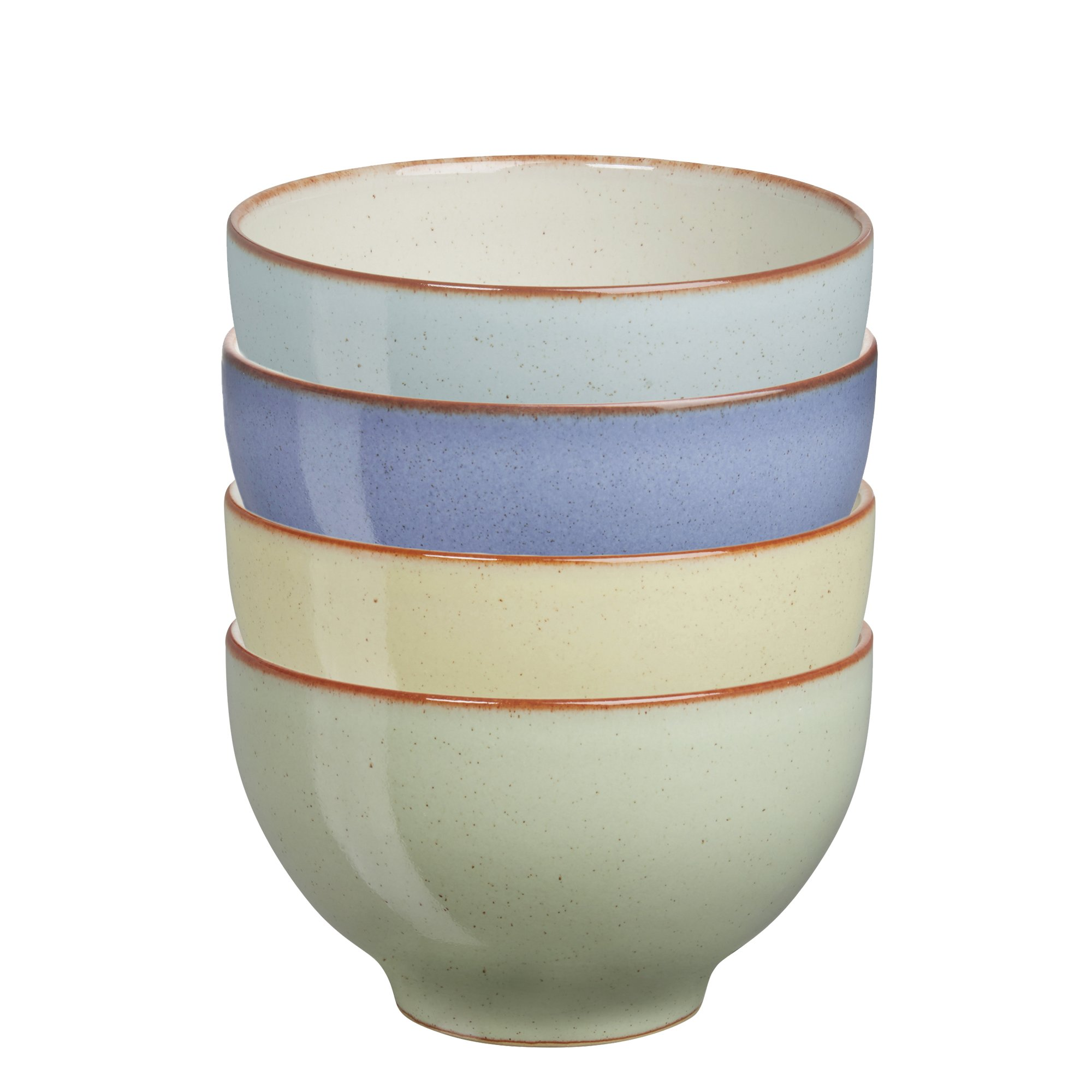Denby USA Heritage Assorted Small Bowls (Set of 4), Multicolor