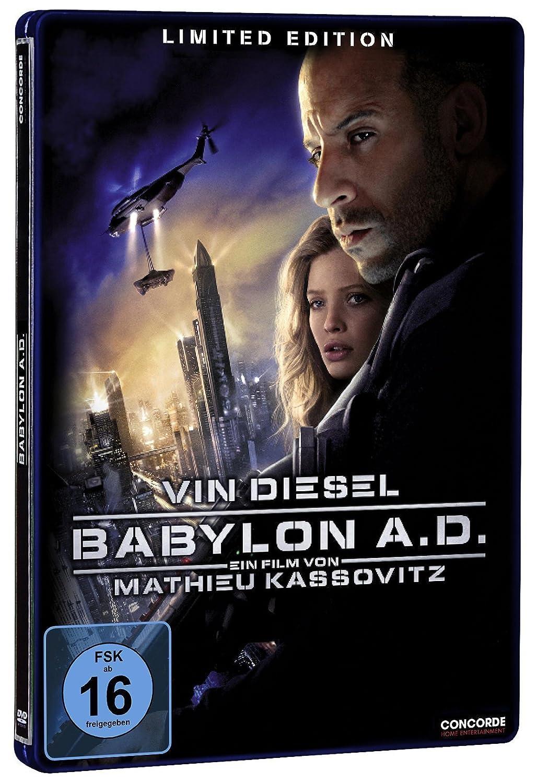 Babylon a d steelbook limited edition 2 dvds amazon de vin diesel melanie thierry michelle yeoh mark strong maurice g dantec atli rvarsson