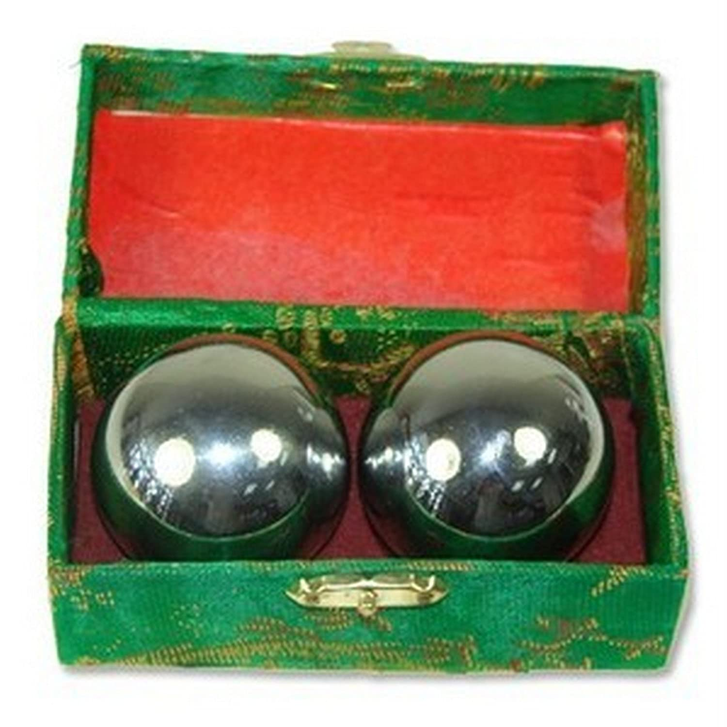 Amazon Baoding Balls Chinese Health Exercise Stress Chrome Color Personal Care