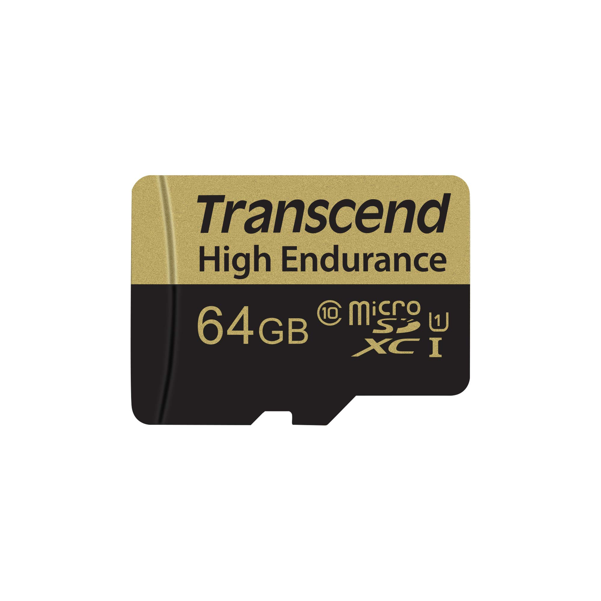 Transcend Information 64GB Micro Card with Adapter (TS64GUSDXC10V) by Transcend