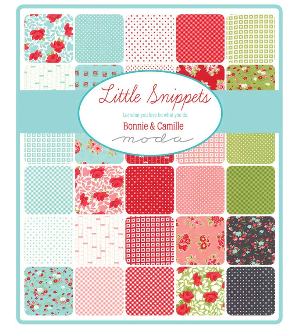 Little Snippets 40 Fat Quarter Bundle by Bonnie & Camille for Moda Fabrics 55180AB by Moda Fabrics (Image #2)