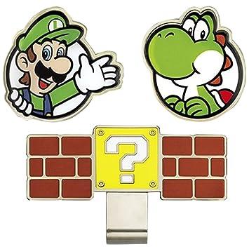 Nintendo Super Mario Bros, Pelota de Golf Marcadores con Enganche ...