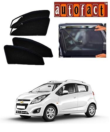 Autofact Car Accessories Zipper Magnetic Sunshades (Chevrolet Beat ...