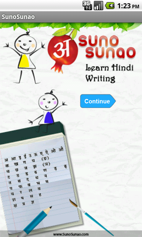 Amazon.com: Learn Hindi Alphabet Writing: Appstore for Android