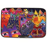 Fig Design Group Armored Wallet RFID Secure Data Theft Protection Credit Card Case (Laurel Burch Fantasticats)