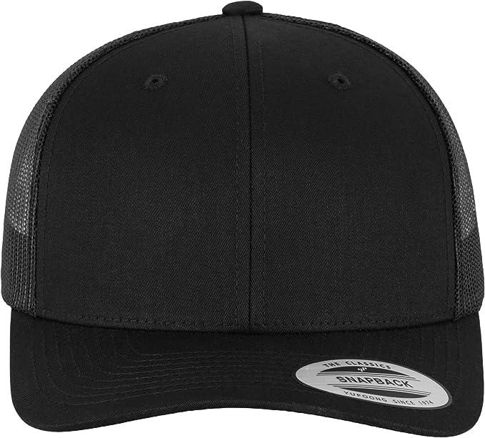 df37338e6 Urban Classics Retro Trucker Cap, Color:black;Größe:one size at ...
