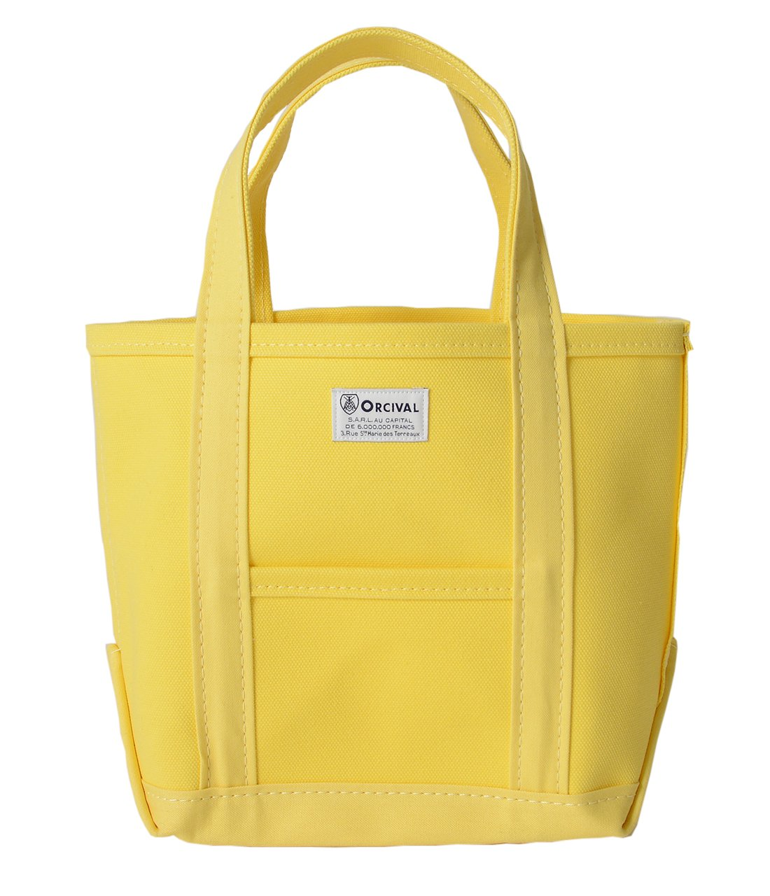 (オーシバル/オーチバル) ORCIVAL コットンキャンバス ミニトートバッグrc-7060hvc レディース B079R9GJKM yellow×yellow yellow×yellow