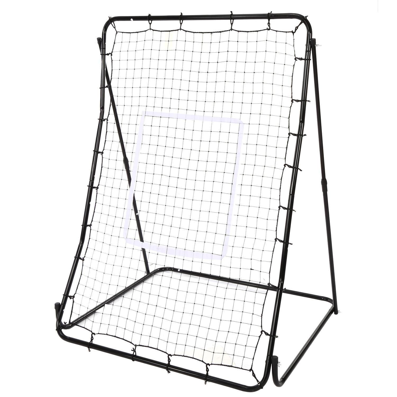 Oguine Multi-sport Baseball Softball Lacrosse Rebounder Pitchback Screen Return Trainer Net,44'' x 64'' Adjustablel Practice Screen by Oguine (Image #2)