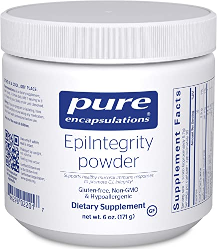 Pure Encapsulations – EpiIntegrity Powder – Supports Healthy Mucosal Immune Responses to Promote G.I. Integrity – 6 Ounces