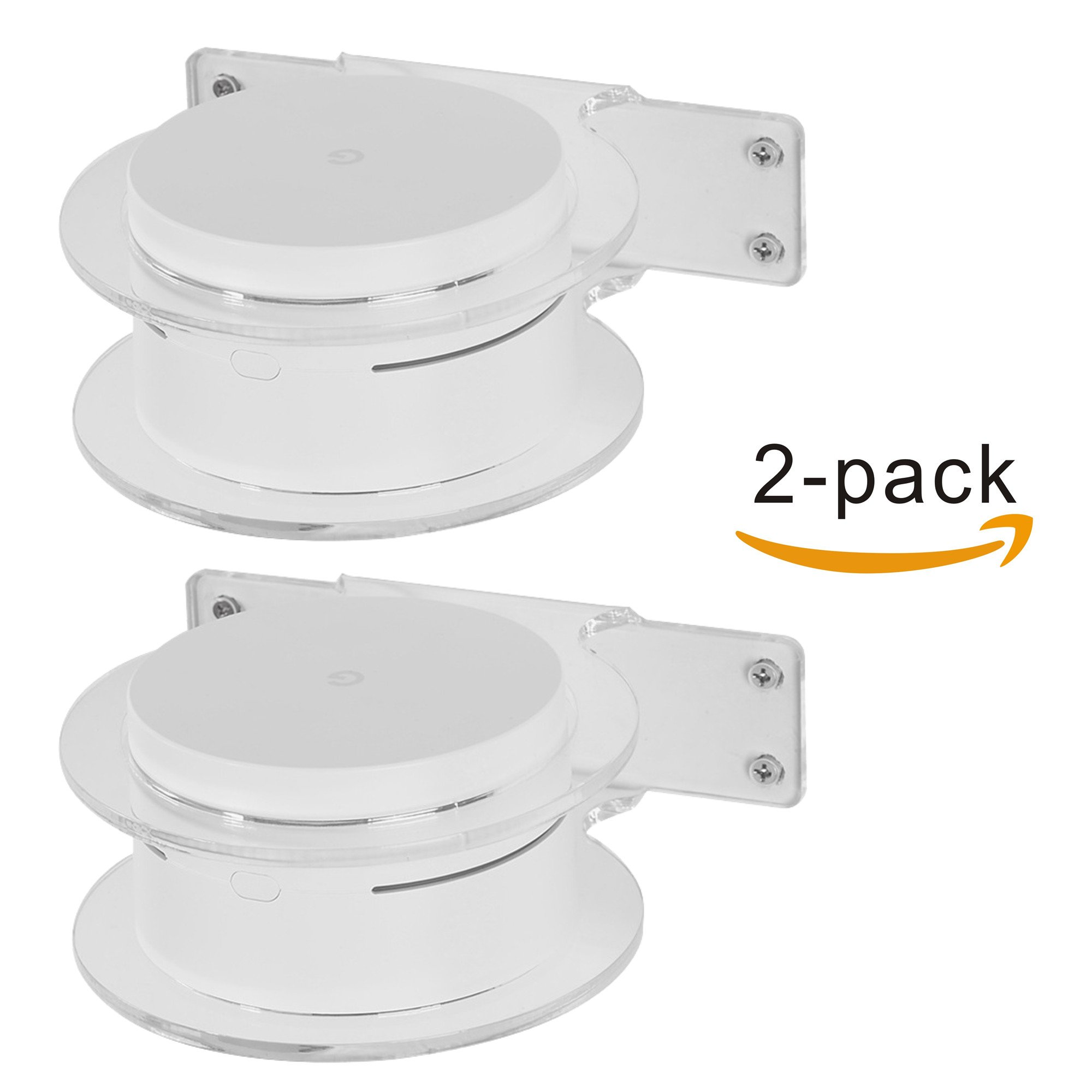 Google WiFi Outdoor Mount Holder Stand Bracket Google WiFi System Router Replacement Whole-Home Coverage (2 Pack)
