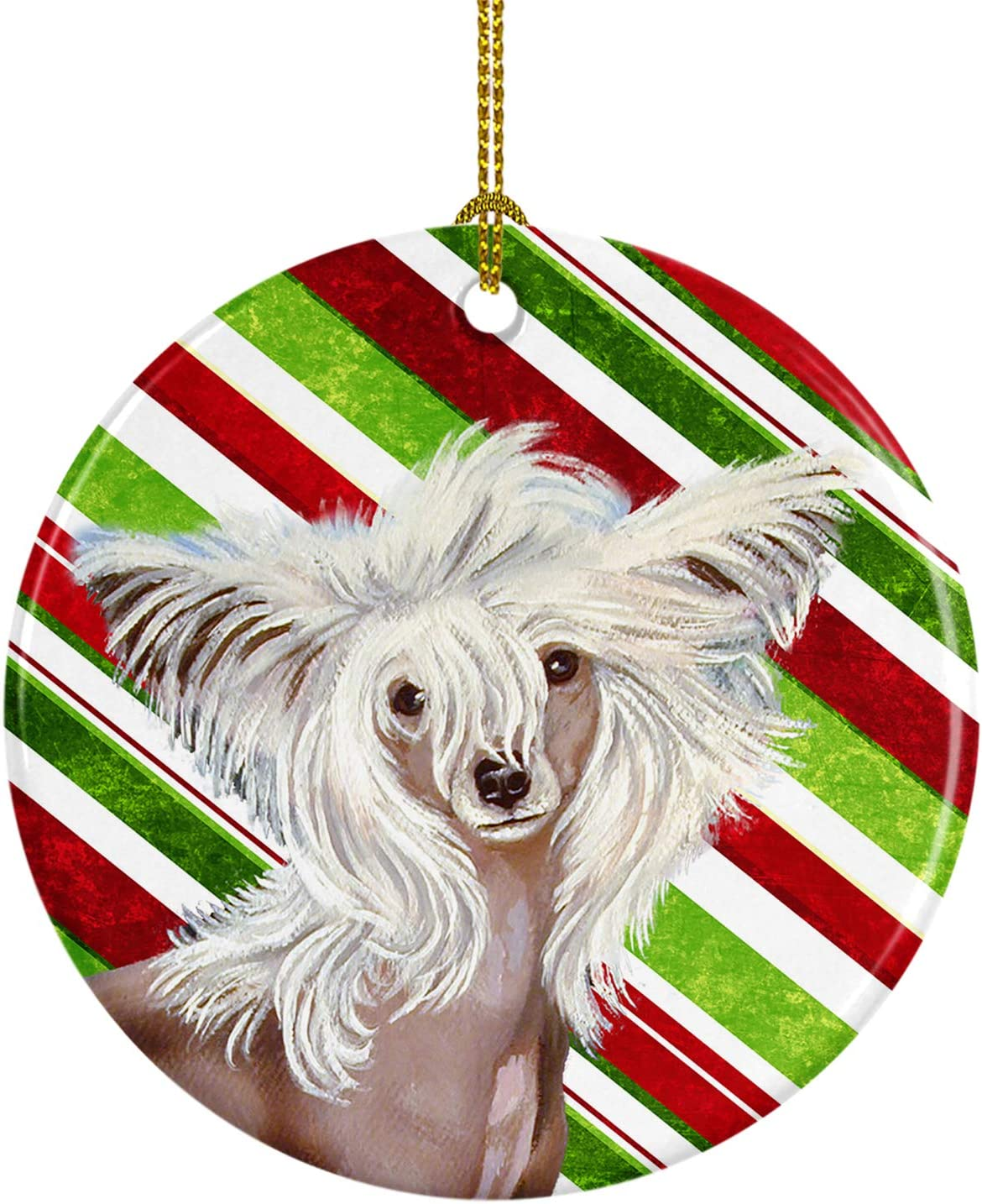 Carolines Treasures Chinese Crested Snowflakes Holiday Night Light 6 x 4 Multicolor