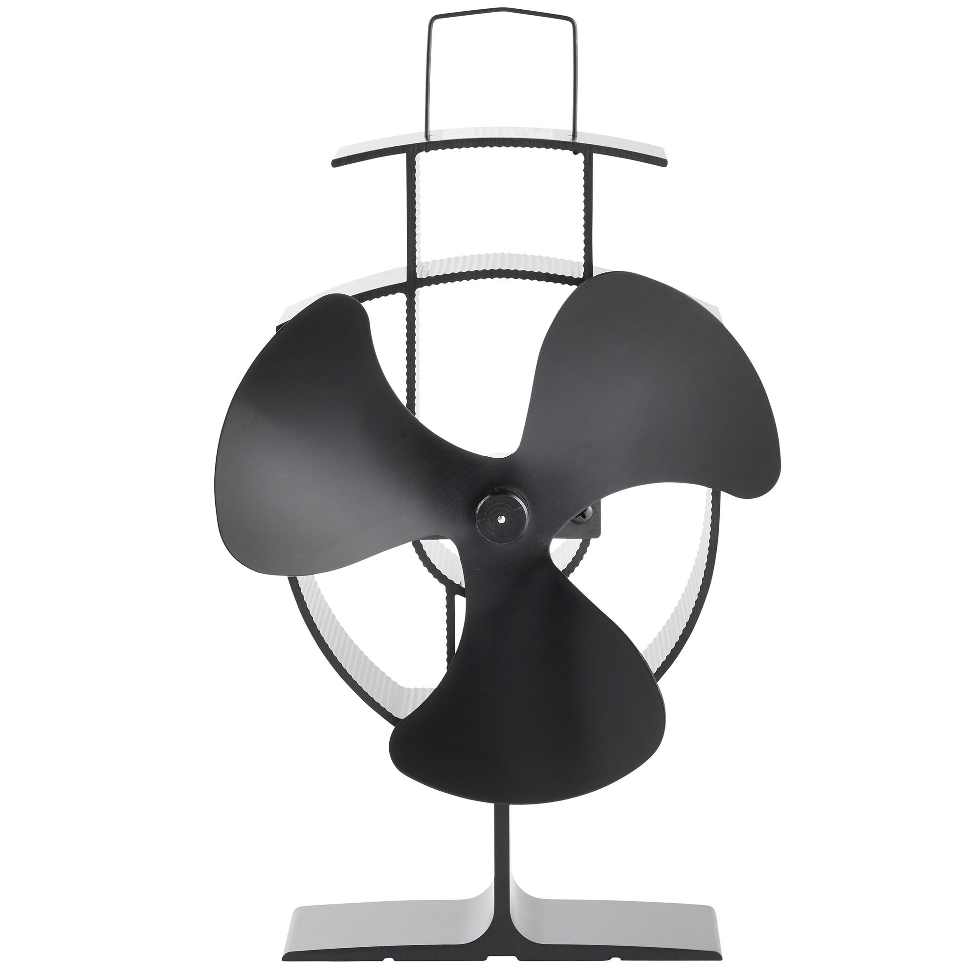 Heat powered fans for wood stoves - Heat Powered Stove Fan Increases The Efficiency Of Your Freestanding Stove Oven Or Wood Log Burner To Generate Warmth Economically