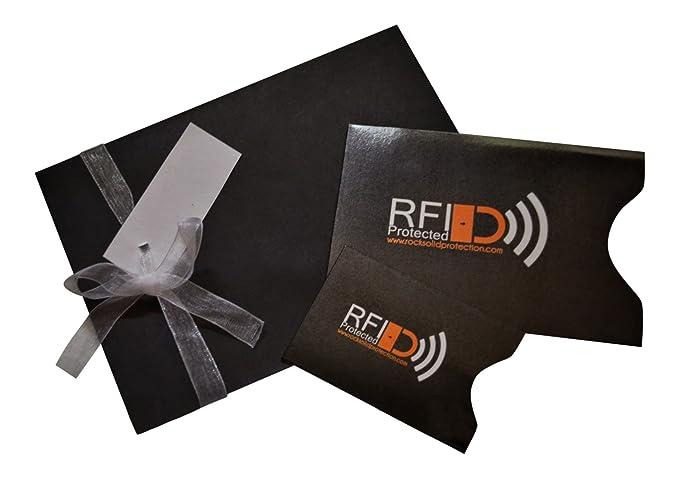 Amazon.com: Pasaporte y tarjeta de crédito RFID Protección ...
