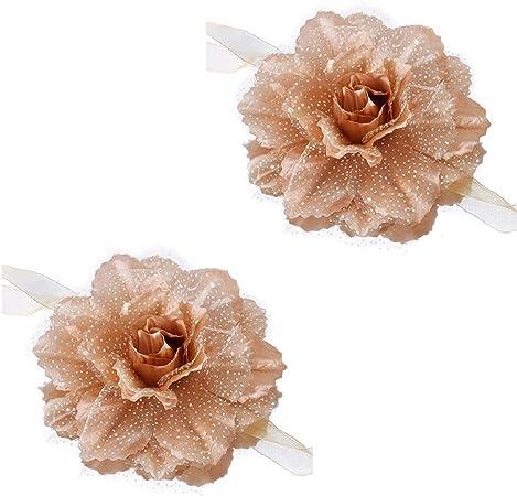 1 paire Fleur fen/être Rideau Embrasse Rideau Embrasses Embrasses Fleur Sheer Rideau Embrasses Home Decor