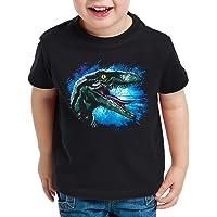 style3 Velociraptor Blue Camiseta para Niños T-Shirt Parque de Dinosaurios