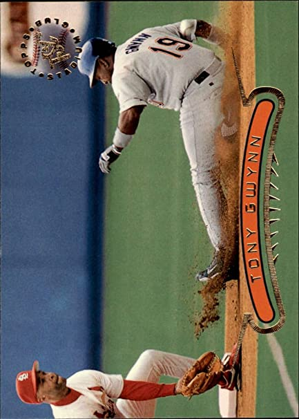 Amazon.com: 1996 Stadium Club Baseball Card #301 Tony Gwynn ...