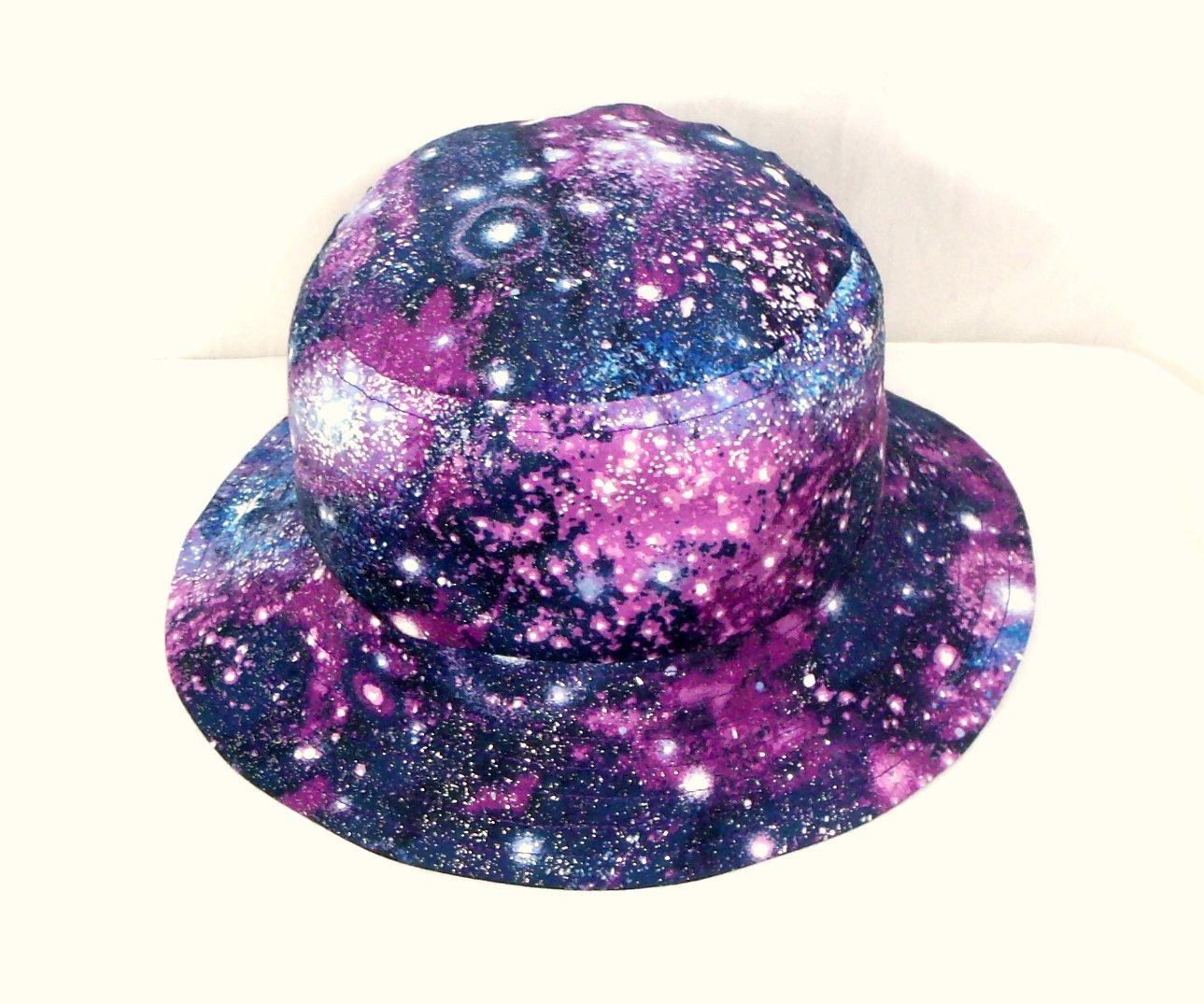 Amazon.com  Galaxies   glitter bucket hat  Handmade 09ee1ff13bf