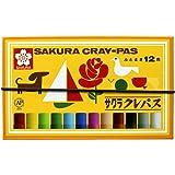 サクラクレパス クレパス太巻 12色 LP12R