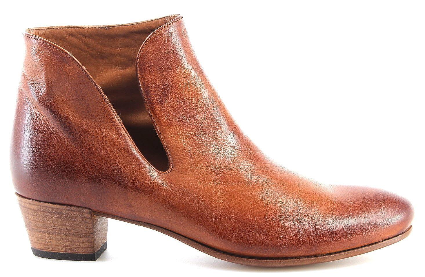 PANTANETTI Chaussures Femmes Bottines Mexico Brandy Turandot Grez  Nouveau
