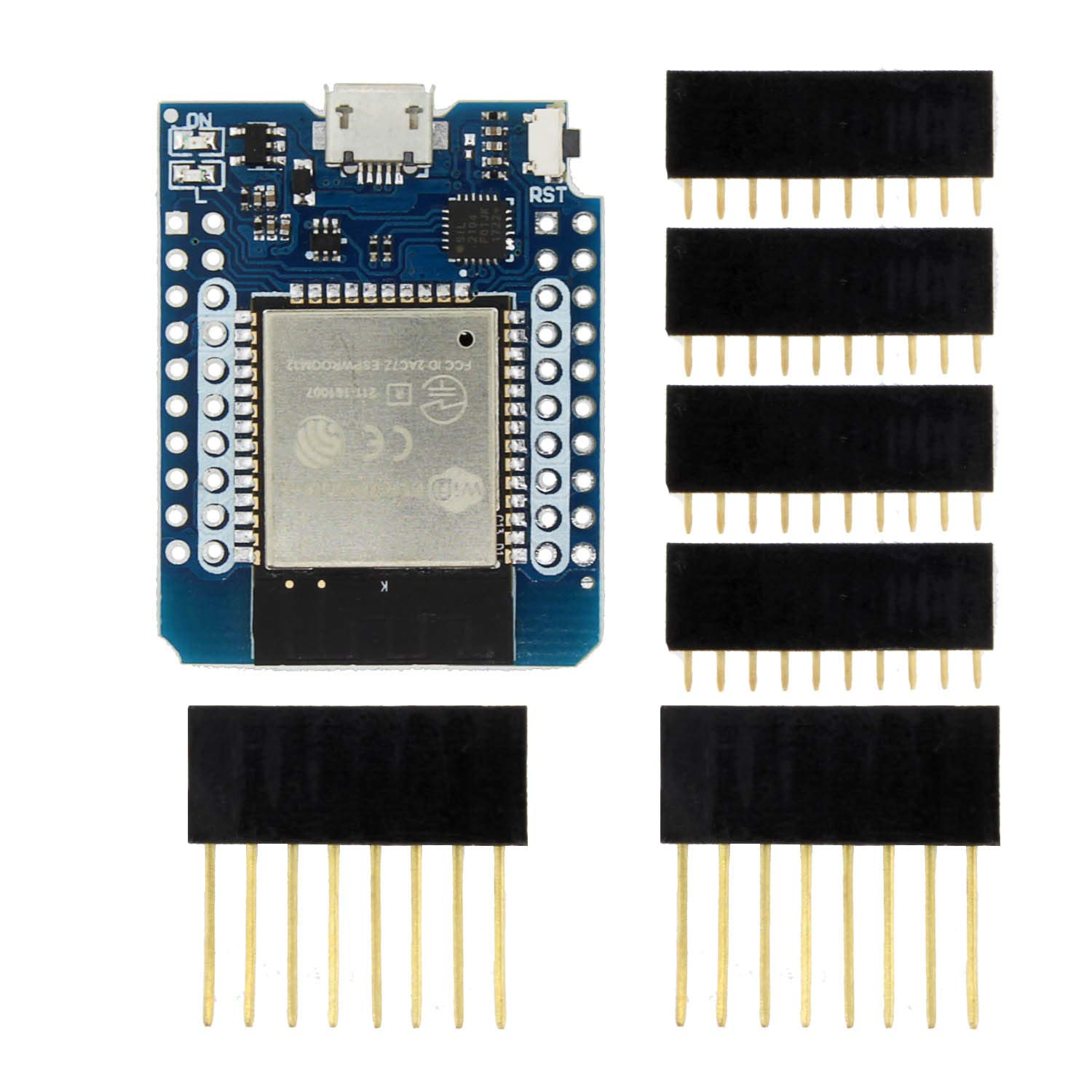 Nrthtri Module D1 Mini ESP-32 WiFi+Bluetooth Internet of Things Development Board Based ESP8266 Fully Functional LDTR-WG0202 by Nrthtri