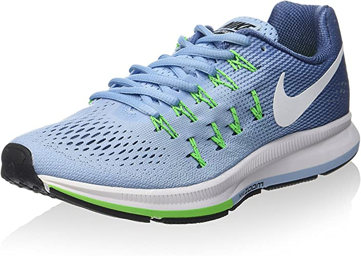 Nike 831356-402, Zapatillas de Trail Running para Mujer, Azul (Bluecap/White/Ocean Fog/Rage Green), 42.5 EU: Amazon.es: Zapatos y complementos