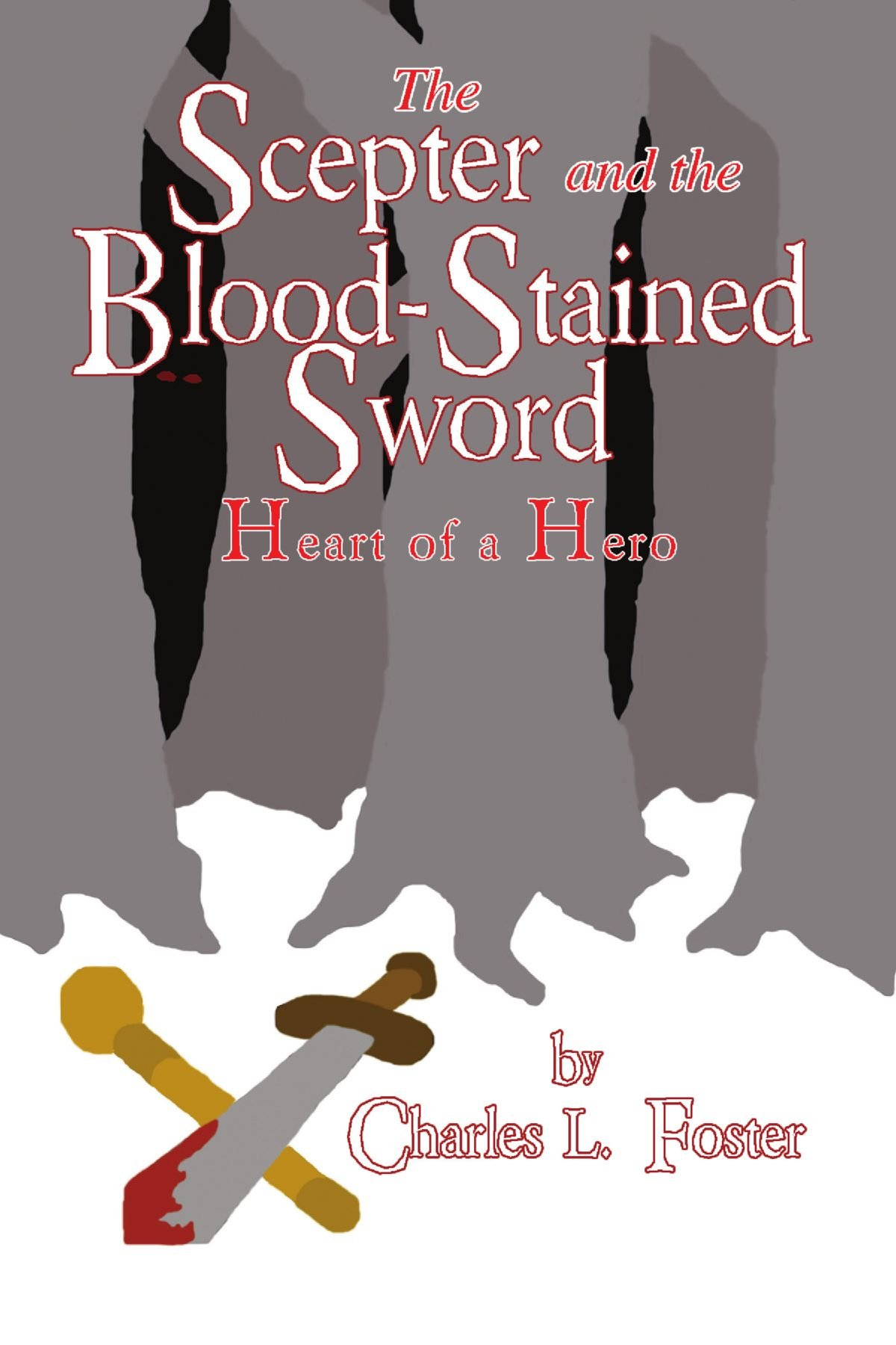Scepter Blood stained Sword Heart Hero product image