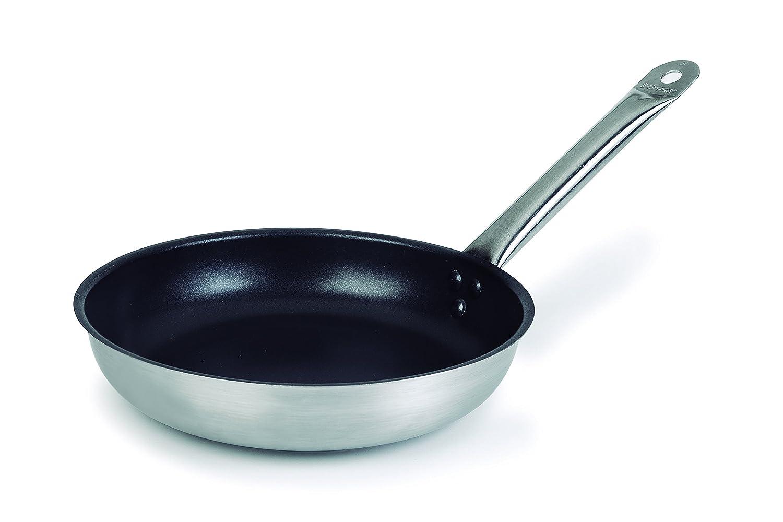 Lacor 51621 - Sartén Chef-Inox Plus Antiadherente Tricapa, 20 cm: Amazon.es: Hogar